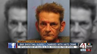 Man faces hate crime indictment in Olathe bar shooting - Video