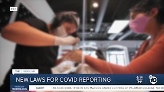 New California laws for COVID-19 reporting