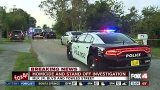 Fort Myers stand-off homicide ruled a domestic situation - Video