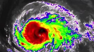 Hurricane Irma jumps to Category 5 - Video