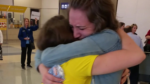 Sisters beautifully reunited after years apart