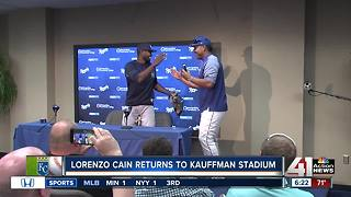 Former Royal returns home to Kansas City on opposing team
