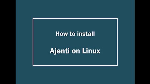 [VPS House] How to install Ajenti in VPS or Dedicated Severs?
