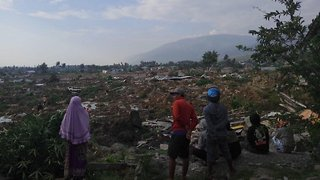 Death Toll From Indonesia Earthquake And Tsunami Continues To Rise