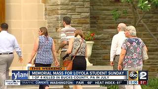Loyola to hold memorial mass for Jimi Patrick - Video