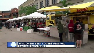 People pack Bayshore Town Center for 10th annual Wisconsin Beer Lovers Festival