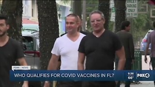 Snowbirds getting vaccinated in Florida