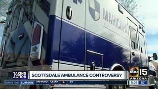 Concerns raised over new Scottsdale ambulance provider - Video