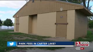 Mayor wants park fees in Carter Lake - Video