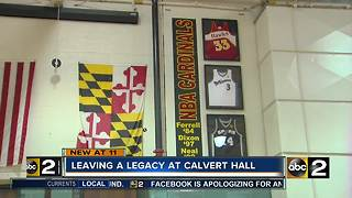 Leaving a legacy at Calvert Hall - Video