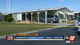 Murder suspect indicted