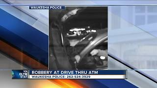 Man robbed while withdrawing money from Waukesha ATM - Video