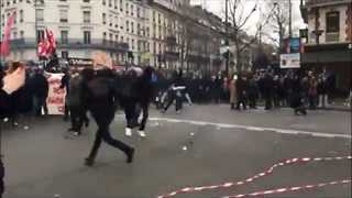 Thousands March in Paris Against Police Violence - Video