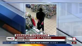 Armed robbers target two Lehigh Acres businesses Sunday night - Video