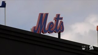 New York Mets arrive for spring training