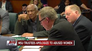 MSU Board of Trustees meet amid Larry Nassar controversy - Video