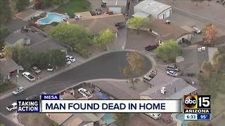 Man found dead inside Mesa home near Southern and Lindsay