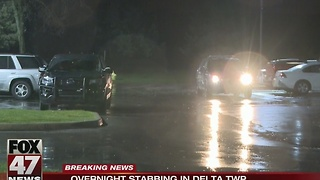 Teen stabbed in Delta Township - Video