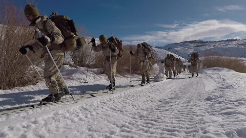 5th SFG (A) partners with UAE Special Operations for Mountain Training (B-ROLL)