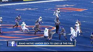 Leighton Vander Esch to be leader at LB for BSU - Video