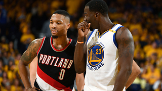 "Draymond Green ROASTS Damian Lillard Over Carmelo Anthony: ""Give It a Break"" - Video"