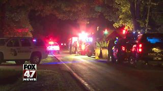 One man is dead after a two-vehicle crash