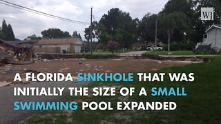 Florida Sinkhole Consumes Two Homes And A Boat