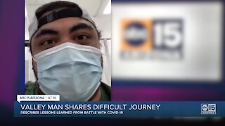 Valley man shares his difficult journey back to good health