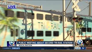 Meeting Tuesday to consider 2nd Tri-Rail stop in Boca Raton - Video