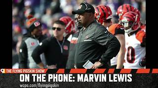 Marvin Lewis tell Flying Pigskin podcast the Bengals have 'rewritten everything we do offensively'