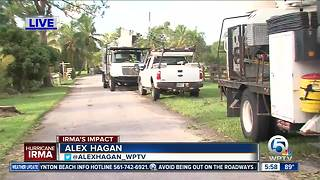 Crews working to restore power in South Florida - Video