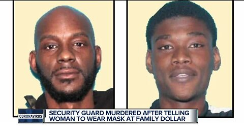 Statewide manhunt underway for two men after store security guard killed after telling family they needed to wear masks