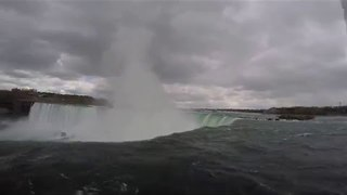 Awesome GoPro Footage of Niagara Falls During May 2016 Cold Stretch - Video