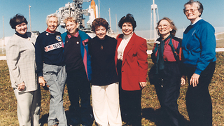 The First Female Astronauts Weren't Allowed Into Space - Video