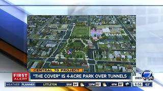 Central 70 cover will be park over highway