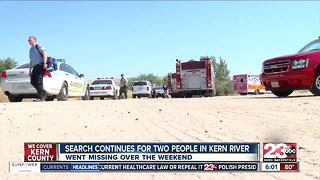 Two people went missing in Kern River this weekend