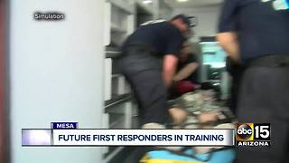 Future first responders train in Valley with real world situations