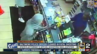 BPD officer cleared in deadly 7-Eleven shooting - Video