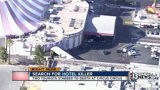 Las Vegas casino offers reward for information after double homicide - Video