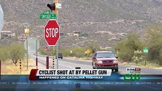 Tucson cyclist recovering after being shot along Catalina Highway - Video