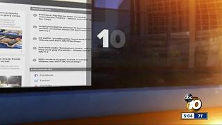 10News at 5pm Top Stories