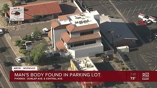Homicide under investigation in Phoenix parking lot