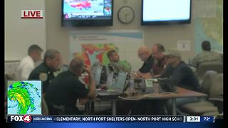 Charlotte Co. officials hunkered down for storm - Video
