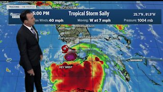 The latest on Tropical Storm Sally