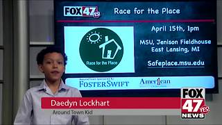 Around Town Kids 4/13/18: Race for the Place - Video