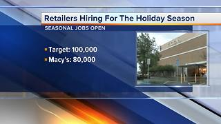 Target is hiring 100,000 team members for the holidays - Video
