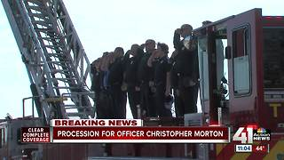 Community Salutes Fallen Officer - Video