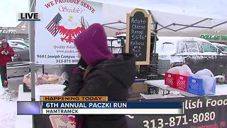 Sixth annual Paczki Run in Hamtramck - Video