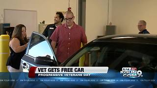 Local veteran gets free car - Video
