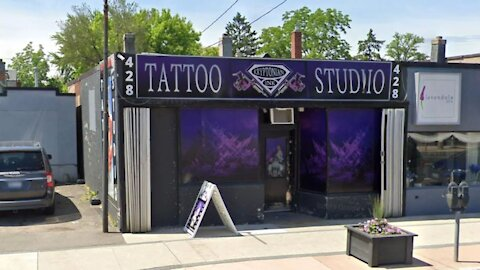 Ontario Tattoo Shop Owner Says He's Staying Open During Lockdown To Feed His Family